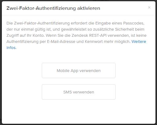 Passcode-Optionen