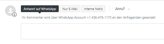Verwenden Der Whatsapp Integration In Zendesk Support