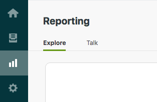 Support reporting menu