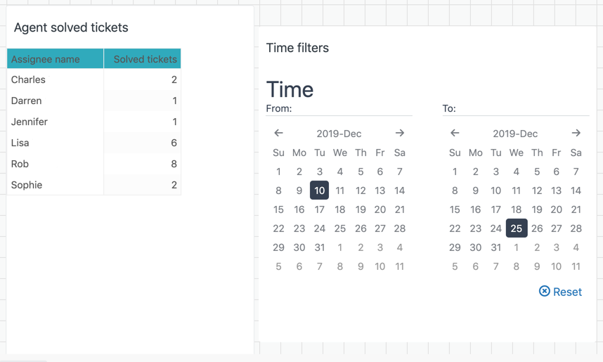 Explore time filter example
