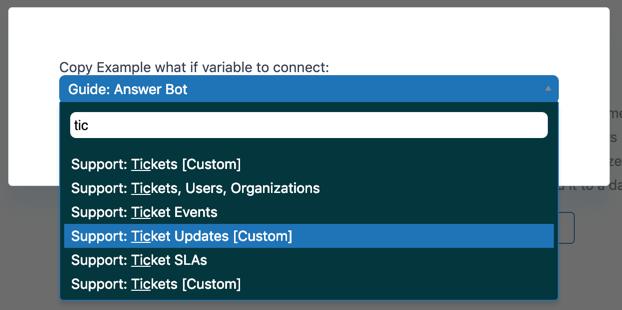 Explore copy to new dataset