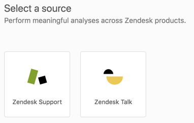 Explore datasets menu