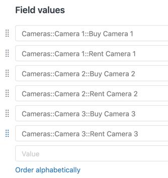 Explore sample nested list