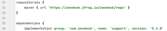 Quick start - Support SDK for Android – Zendesk Develop