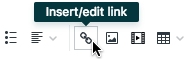 Insert/edit link