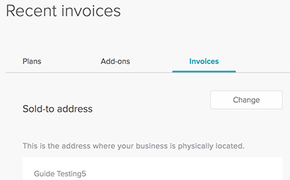 Billing FAQ Zendesk Support - How to do an invoice