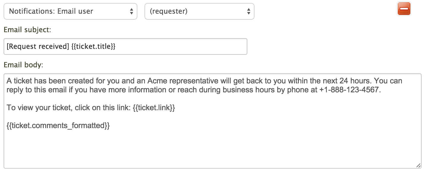 Using The Email Template With Multiple Brands Enterprise Zendesk