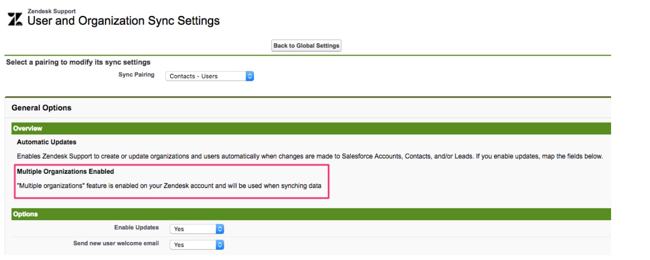 Using multiple organizations feature in the Salesforce integration ...