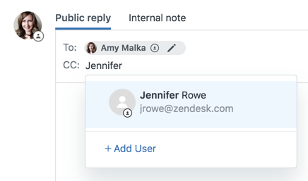 Configuring CC and follower permissions – Zendesk help