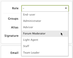 Perfect In The Following Example, The Agent Is Assigned A Custom Role Called Forum  Moderator. Nice Design