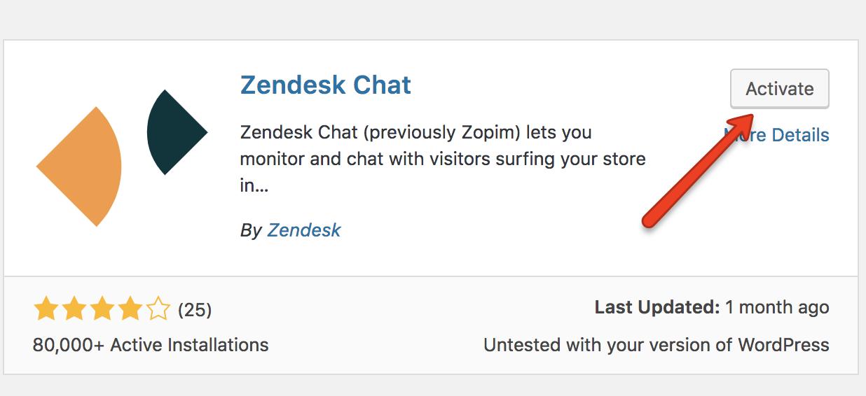 Installing Zendesk Chat For Wordpress Zendesk Help