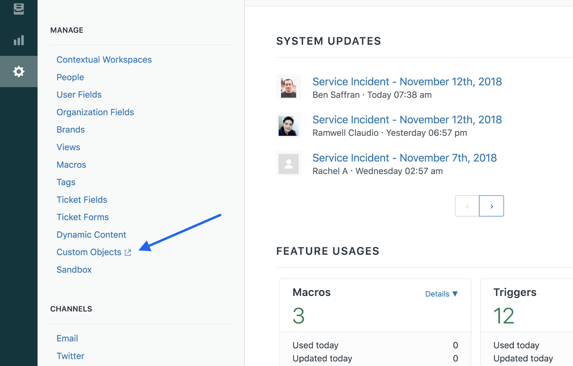 Getting started with Sunshine custom objects – Zendesk Develop