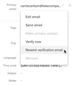 Unable to verify my e-mail?