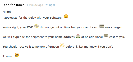 Using Emoji Emoticons In Ticket Comments Zendesk Support