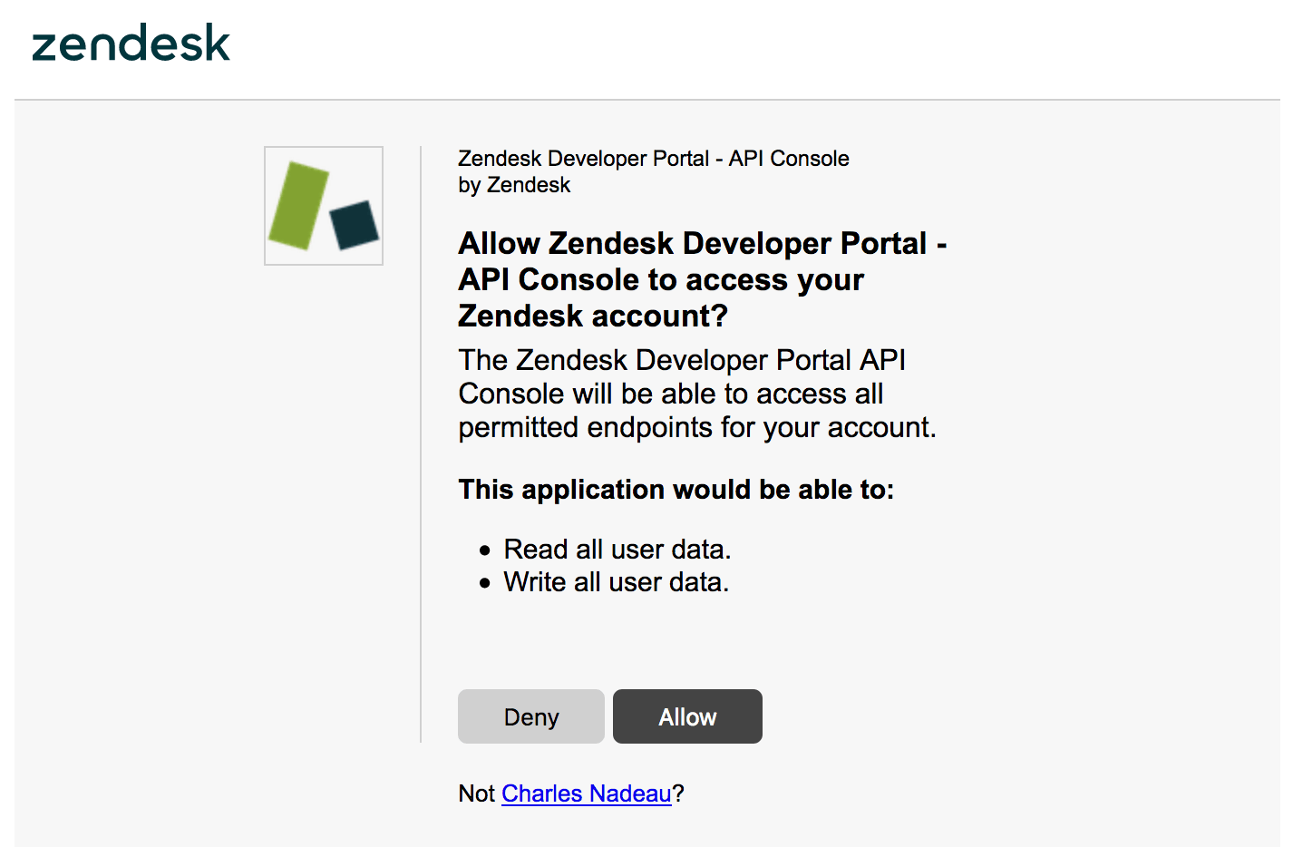 Creating and using OAuth tokens with the API – Zendesk Develop