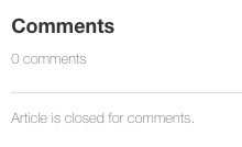 Comments closed