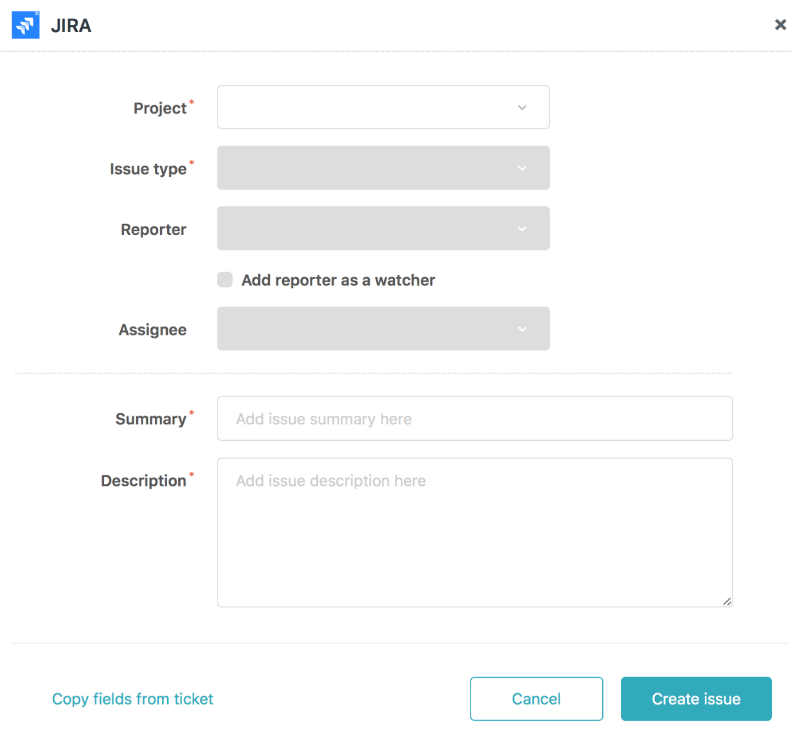 Jira: Setting up Zendesk Support for Jira integration