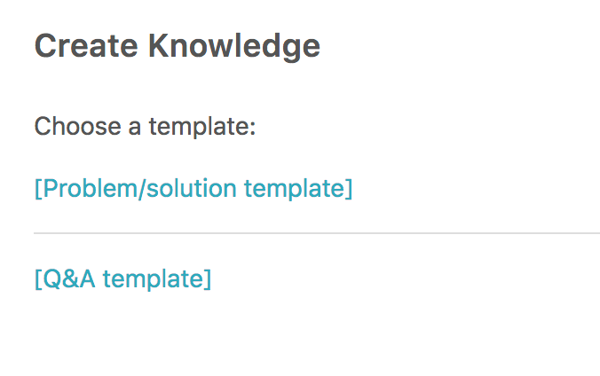 Creating articles with the knowledge capture app guide professional if you have not created any templates you need to set up a template first see creating templates for the knowledge capture app maxwellsz