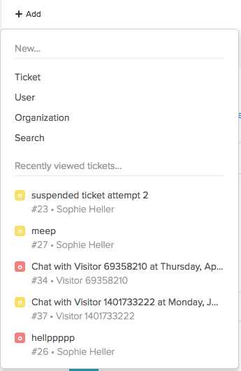 working with tickets zendesk support