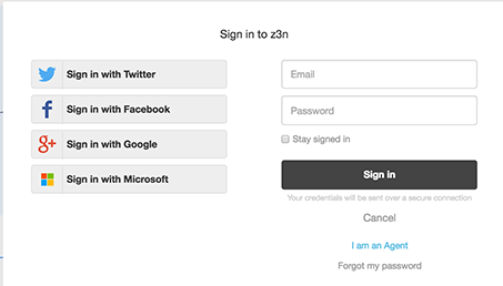 If Google Or Microsoft Is Also Enabled For End Users, Agents And Admins Can  Use The Sign In Button On ...