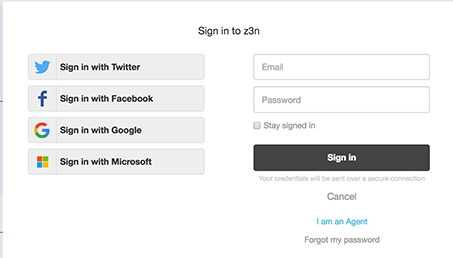 Configuring end-user access and sign-in – Zendesk help