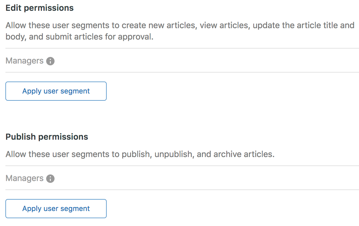 Creating Management Permissions To Define Agent Editing And