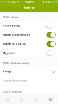 About the Zendesk Support mobile app – Zendesk help