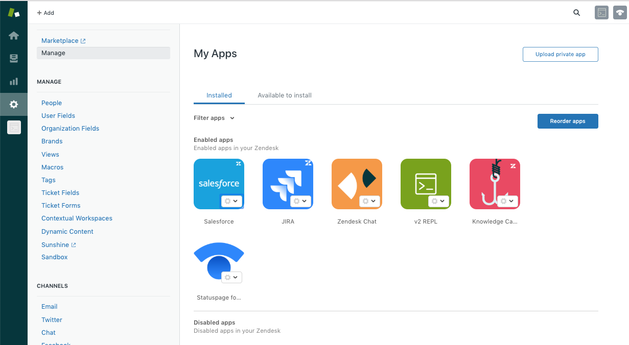 All Of Your Installed Apps, Including Those You Have Disabled, Are Located  On The My Apps Page.