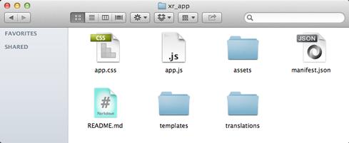 app files