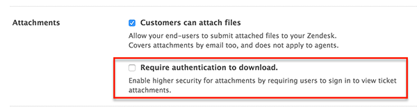 Attachments in Zendesk Support – Zendesk help