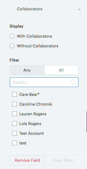 Sell Collaborators