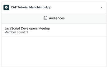 Tutorial Mailchimp app for Zendesk Sell
