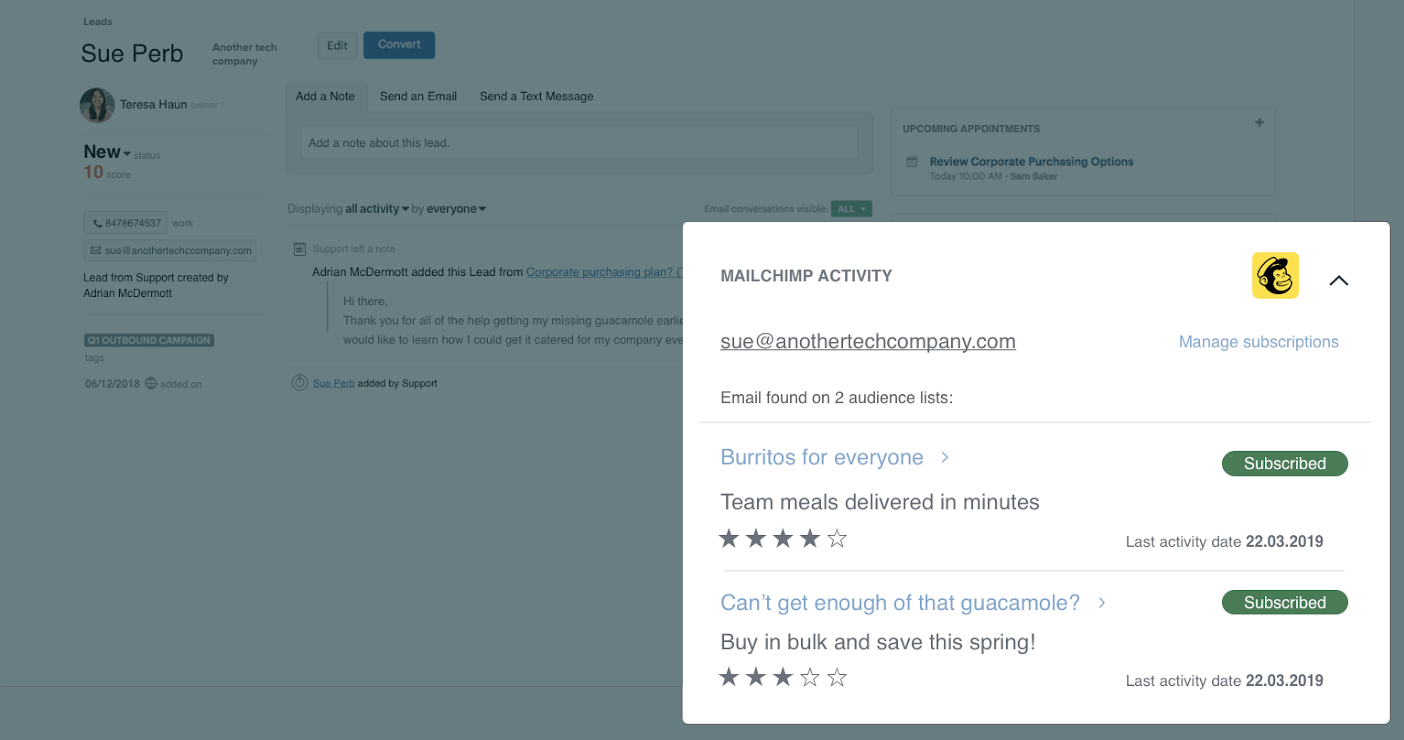 Sell Mailchimp app in Marketplace