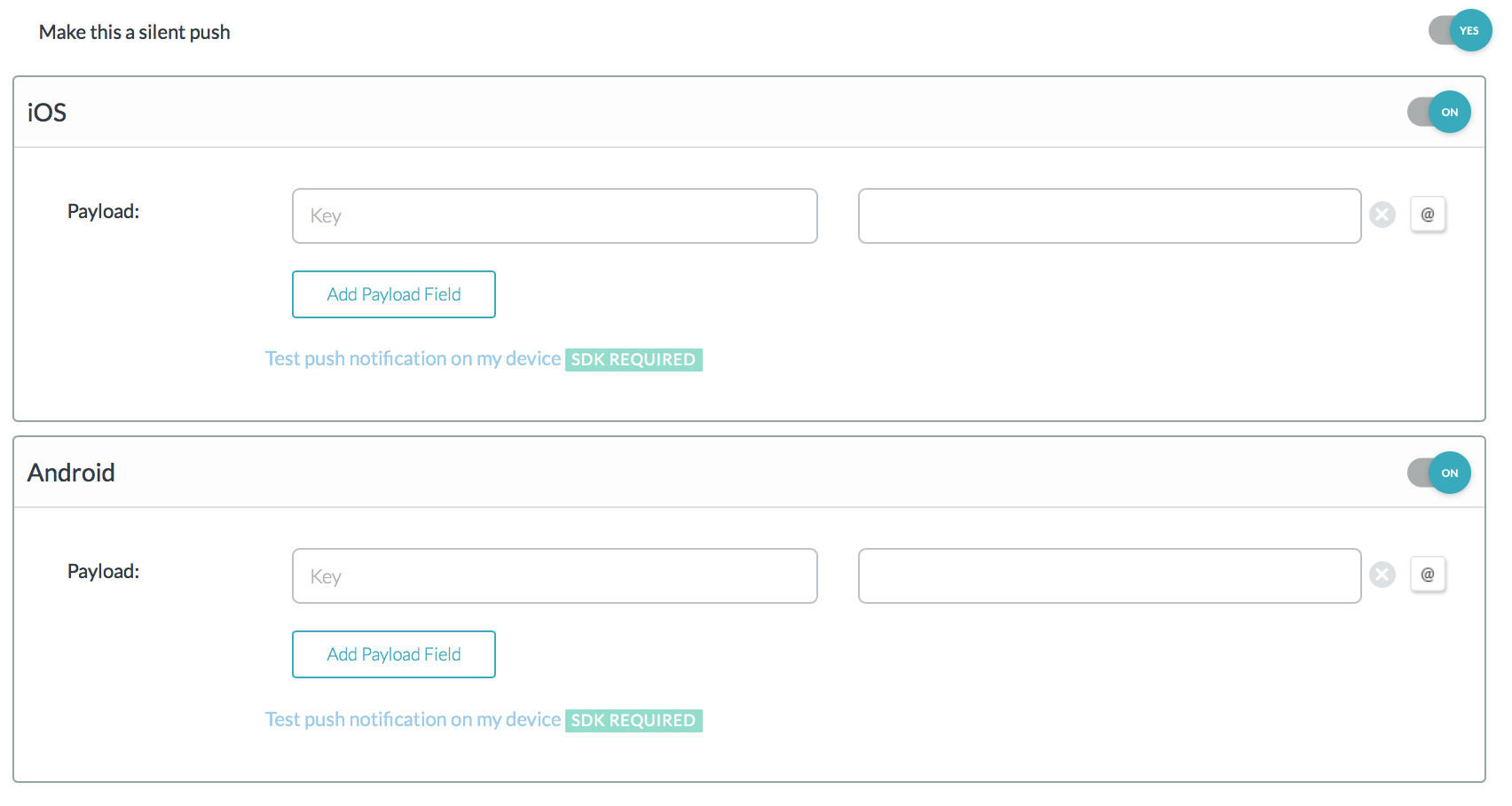 Using the mobile push channel – Zendesk help