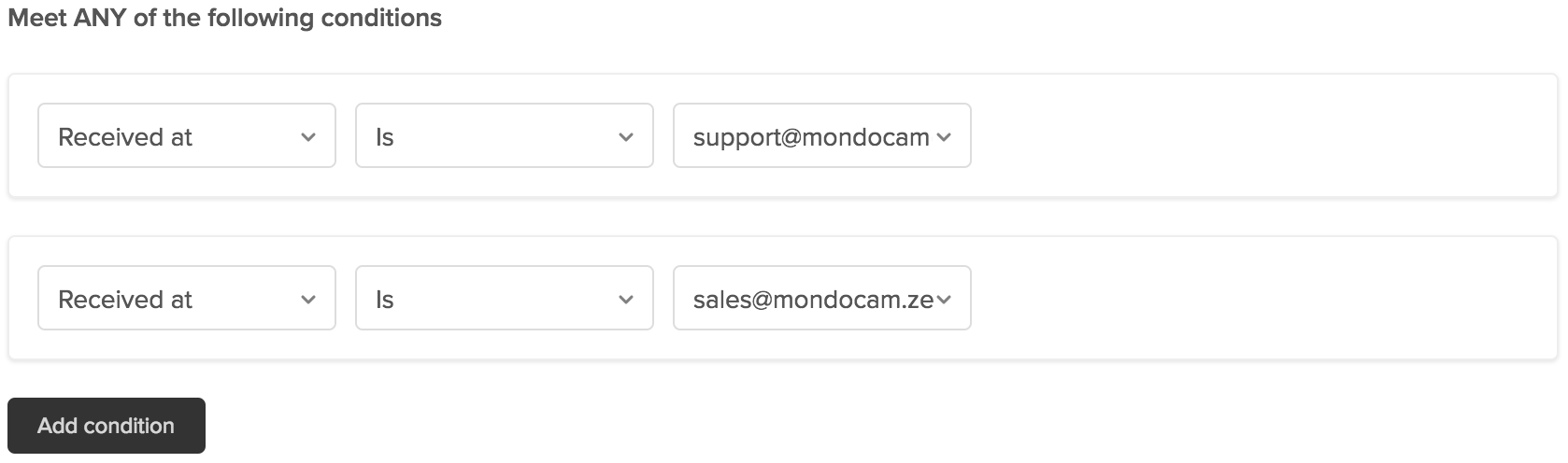 About triggers and how they work zendesk support for example you might want a trigger to act only on tickets that are submitted from a list of specific email addresses as in this example kristyandbryce Choice Image