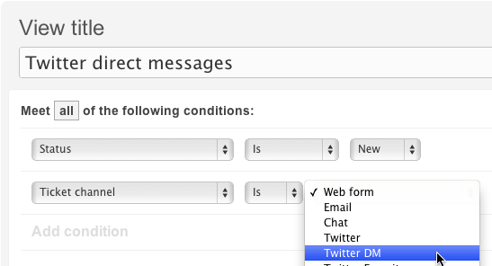 Setting up your Twitter channel – Zendesk help