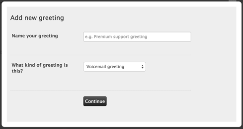 Managing outgoing greetings zendesk support enter a name for your greeting and select the greeting type m4hsunfo