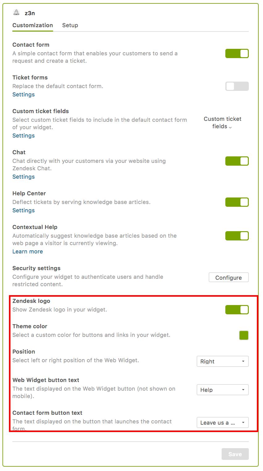 Providing Omnichannel Support Using Web Widget For The Suite Zendesk