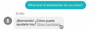 Chat translate