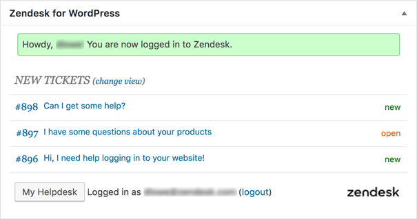WordPress: Setting up and using the Zendesk Support for WordPress